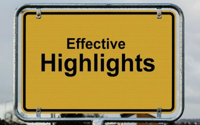 Effective Highlighting: Drawing Attention to Your Important Information